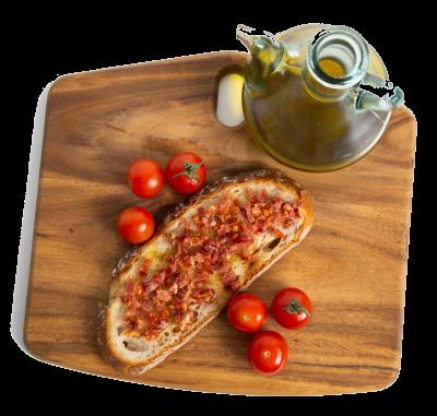 Tostada de jamón en takitos - PROXHAM